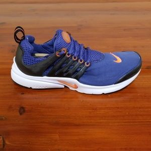 Nike Presto Gs Running Shoes. Dark Purple/Crimson.